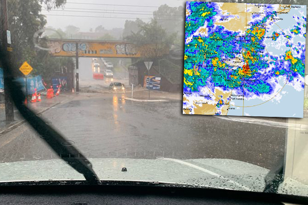 'Once-in-100-year' storm triggers chaos in Sydney
