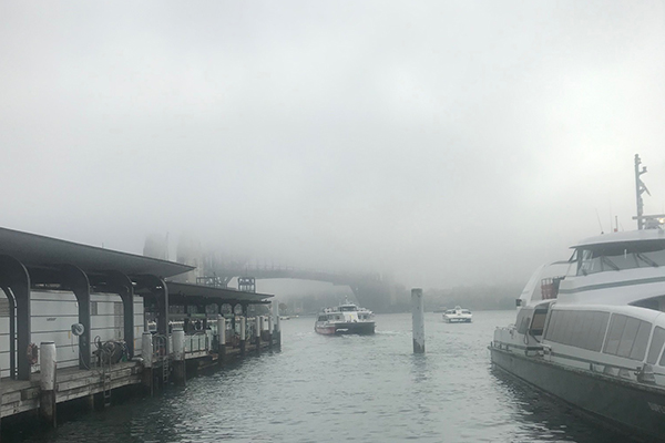 Sydney fog lifts but flights still delayed
