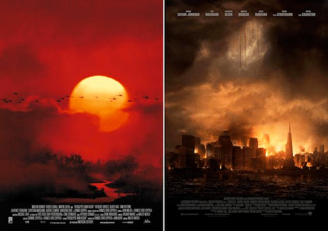Les affiches de cinéma anonymes