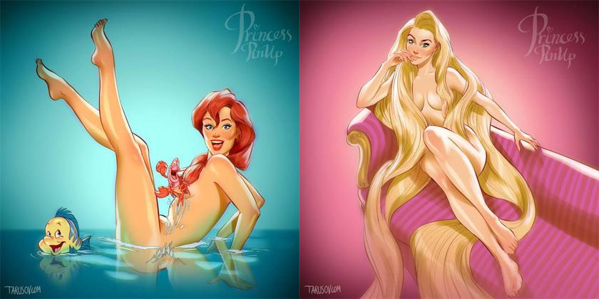 Les pin-up de Disney