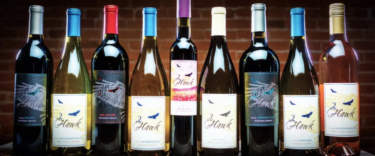 2Hawk Vineyard and Winery Group of Wines