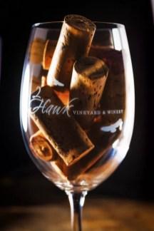 2Hawk Vineyard and Winery Wine Glass