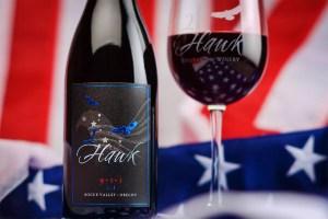 2Hawk 9-1-1 Wine with Flag