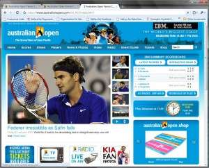 Home Page of AustralianOpen.org