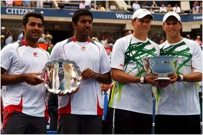 US OPEN TENNIS 2010 UPDATE 8: BOPANNA, QURESHI GO DOWN, BUT WIN HEARTS
