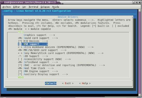 Compile the linux kernel