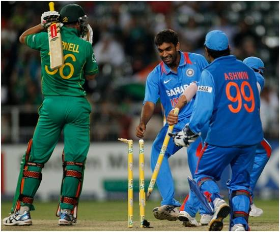 India wins South Africa match