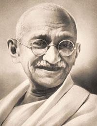 Entrepreneur Mahatama Gandhi