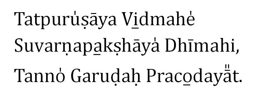 Garuda-Gayatri-Mantra