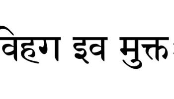 f617cfd35 Sanskrit Tattoo Translation for phrase 'As free as a bird'