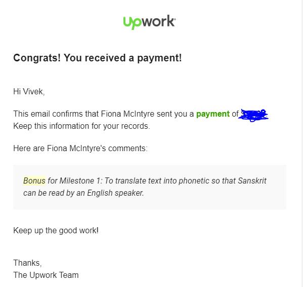 how to win bonuses on Upwork