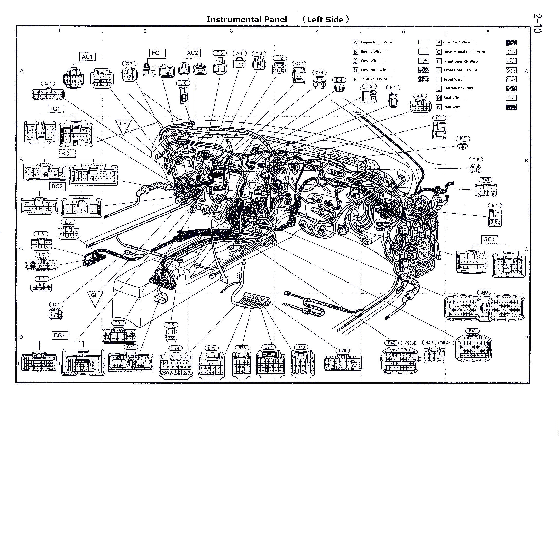 Electrical Wiring Diagram 1987 Toyota Supra Ford Ranger