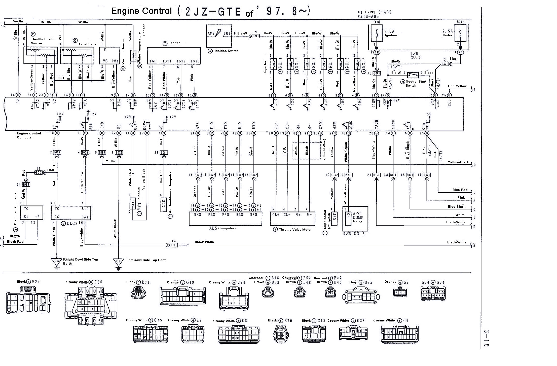 2jz Wiring Diagram