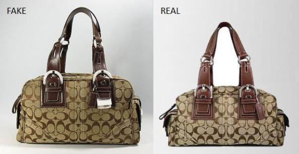 How to Spot Replica Coach Handbags