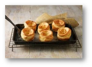 Great Britain's Favourites Dishes - Yorkshire Pudding