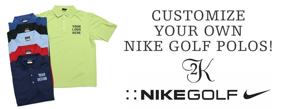 10868870 Custom Embroidered Nike Golf Polos