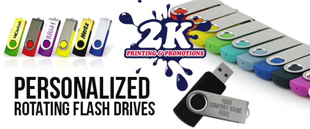Leave A Lasting Impression With Personalized USB Flashdrives
