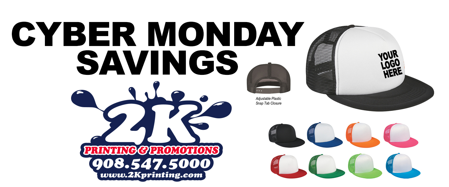 More Cyber Monday Savings On Custom Screen Printed Trucker Hats