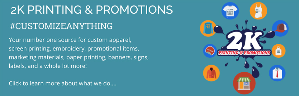 Get Started on Custom Apparel, Promotions and More