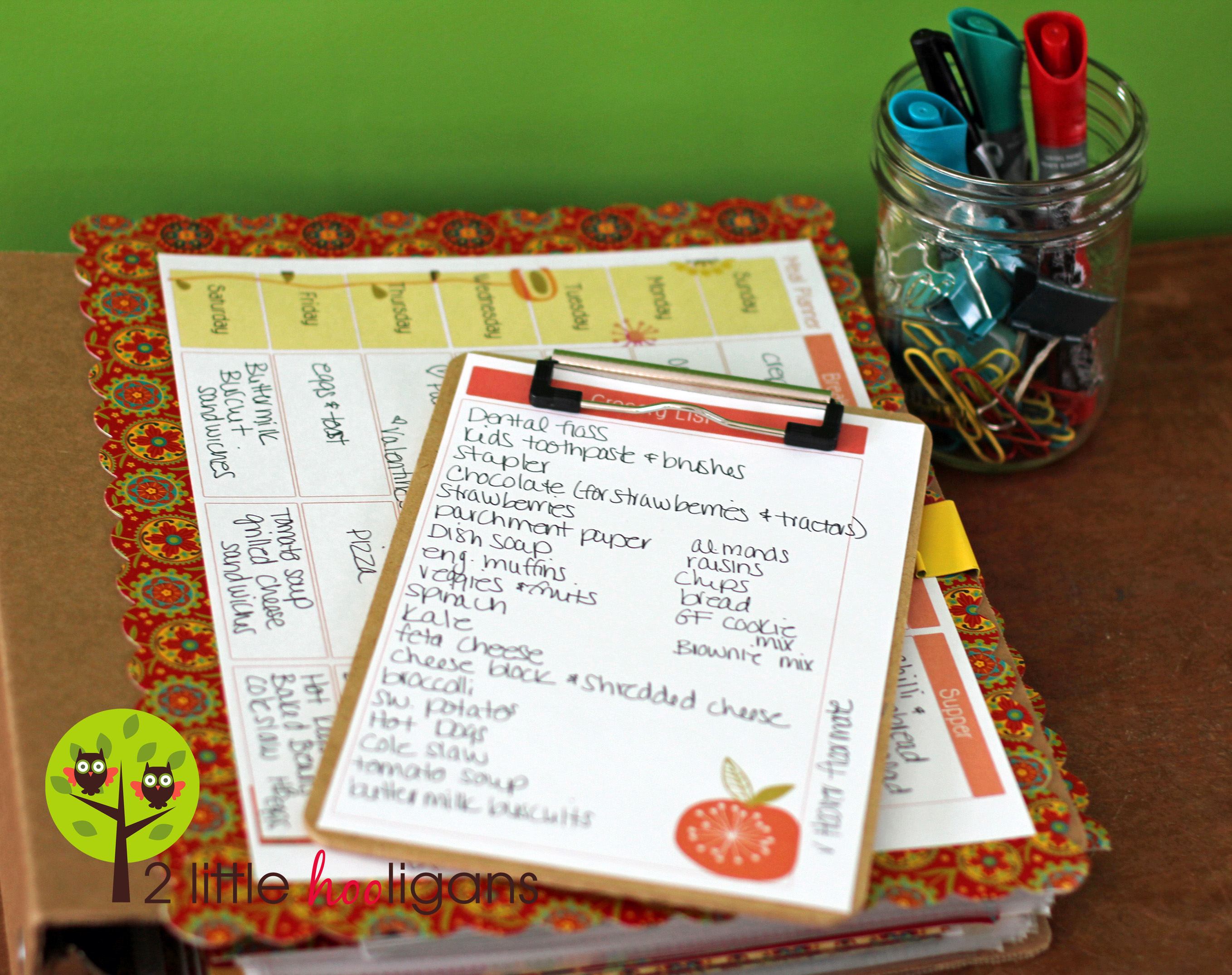 Meal Planning My System