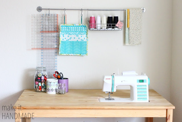 sewing spaces {palak from make it handmade}