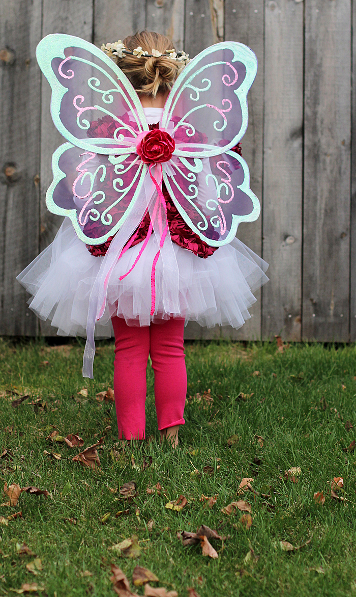 handmade halloween costume: princess fairy