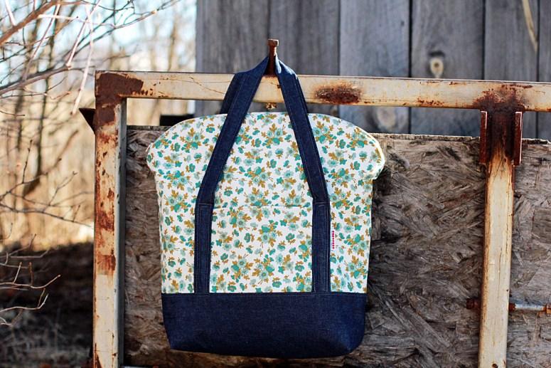 senna tote picnic bag