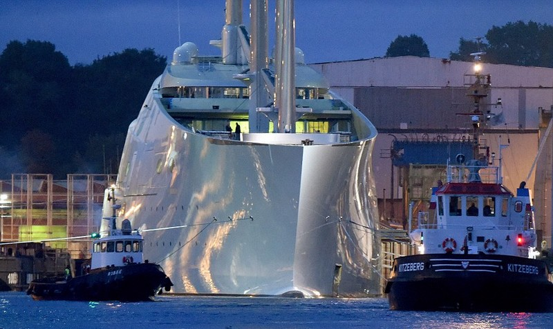 Melnichenkos Epic Sailing Yacht A The Worlds Biggest