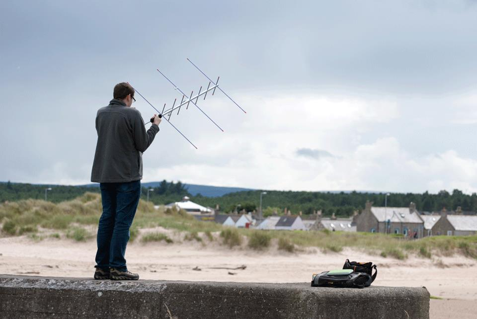 Satellite Operating in North East Scotland