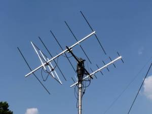Wimo X-Quads 2m & 70cms satellite antennas