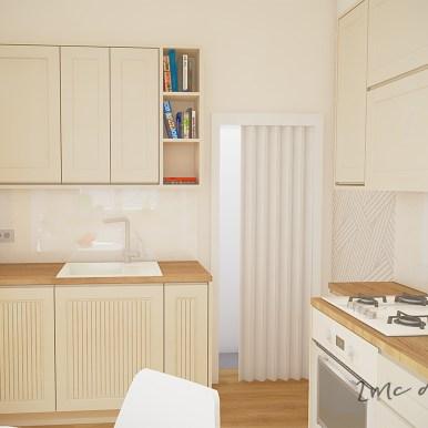 2MC design Mała kuchnia