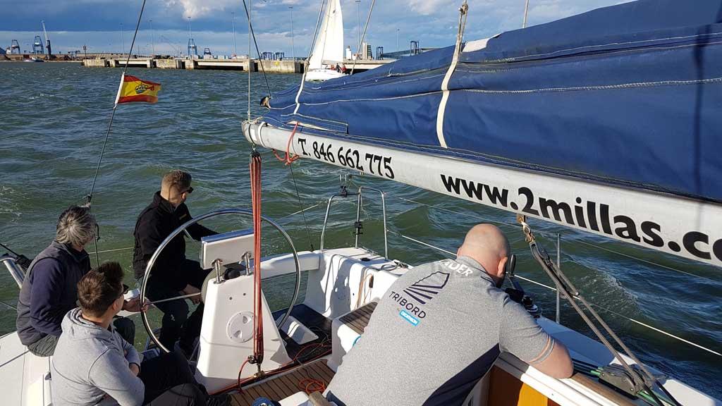 Prácticas PER patrón de embarcaciones de recreo con 2 millas