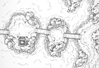 Island Crossing (lines)