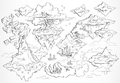 Windy Realms (lines)