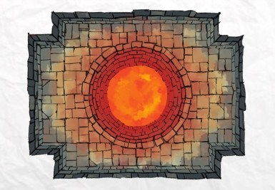 Dungeon Well Lava