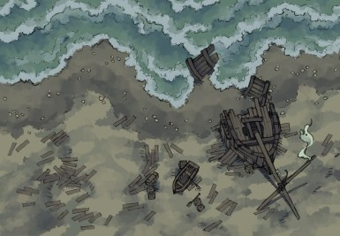Shipwreck (stormy)