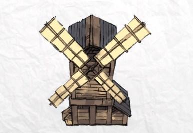 Harvest Horror Windmill