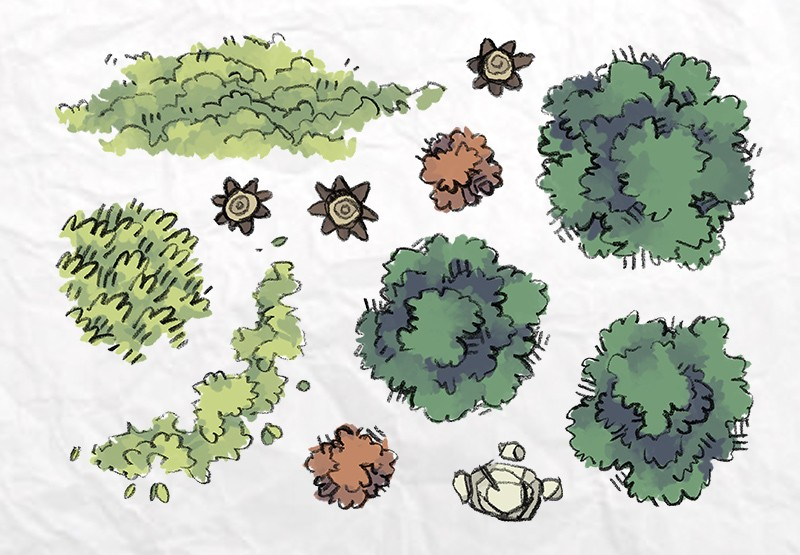 Roadside Forest Tokens Page 3