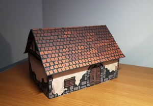 Papercraft House, constructed