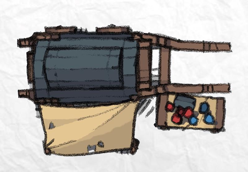 Mercantile Tokens, alchemist cart