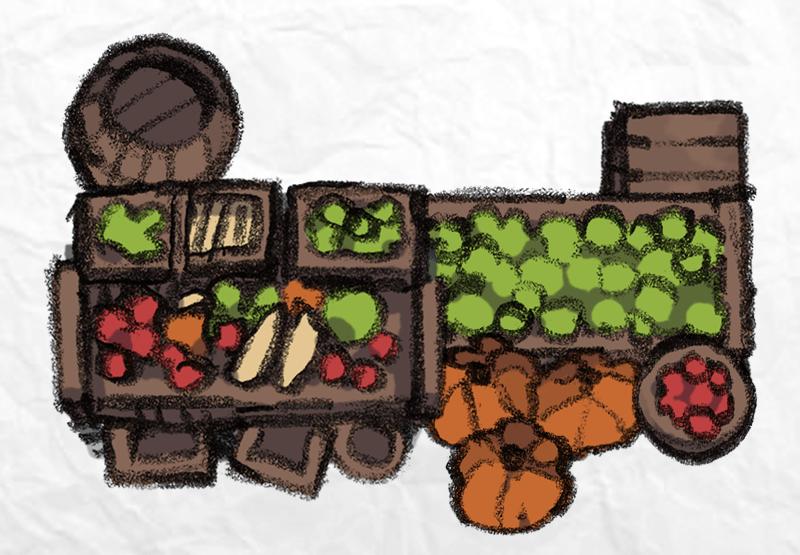 Mercantile Tokens, produce