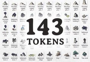 Wonderdraft Map Icons, tokens
