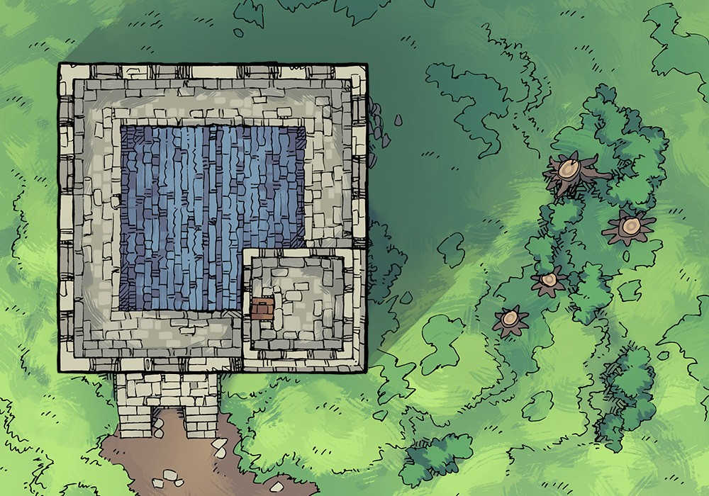 2-Minute Tabletop – RPG Battle Maps, Art Assets, and Articles