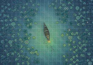 Jungle River Crossing Battle Map - Main Image