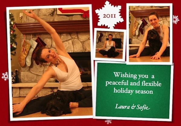 Wishing you a flexible and peaceful holiday season