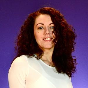 Laura's vanity shot - looking like a movie star
