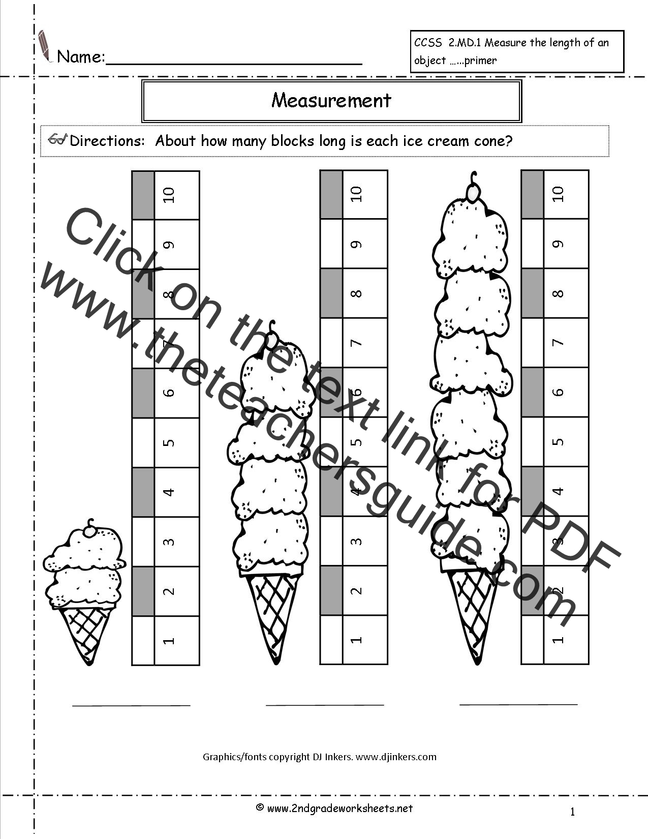 Measuring Lines Worksheet