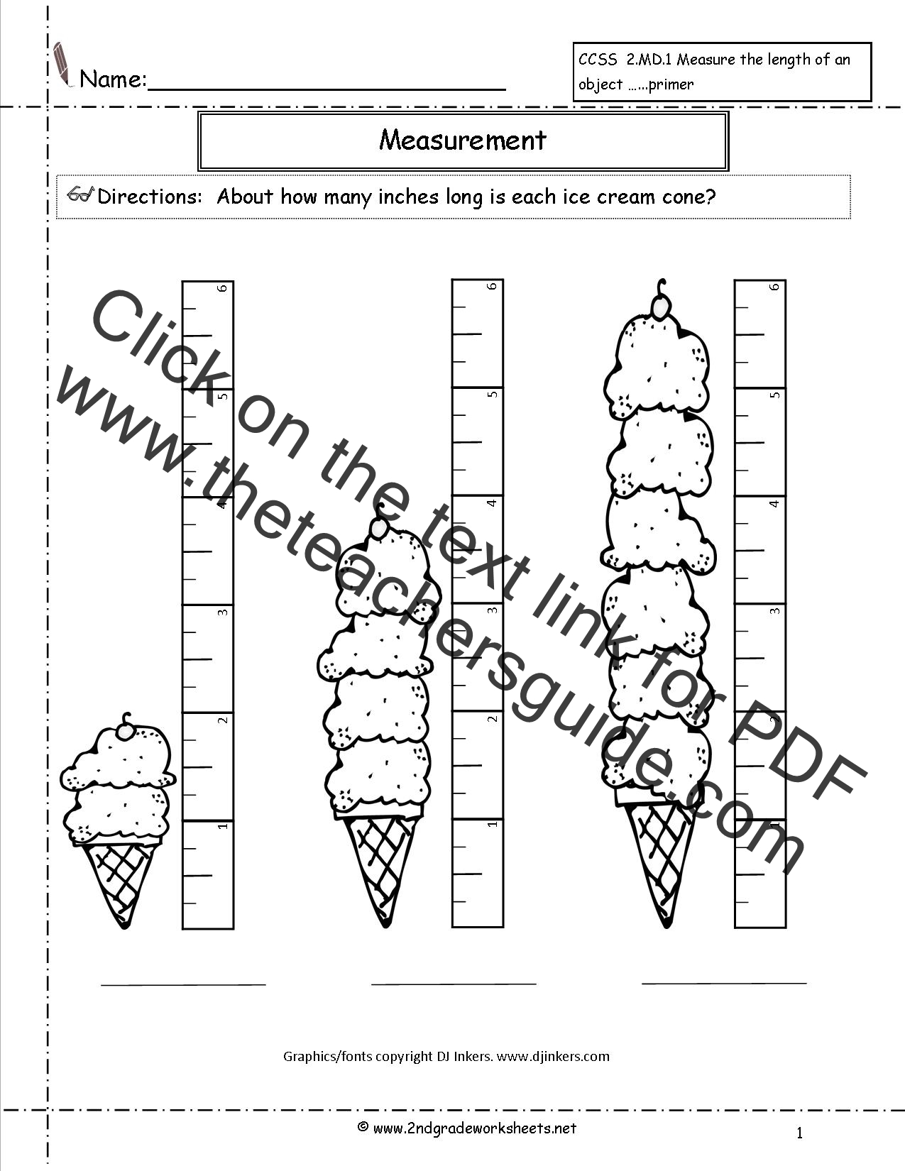 Kindergarten Learning Worksheet Printable With A Ruler To