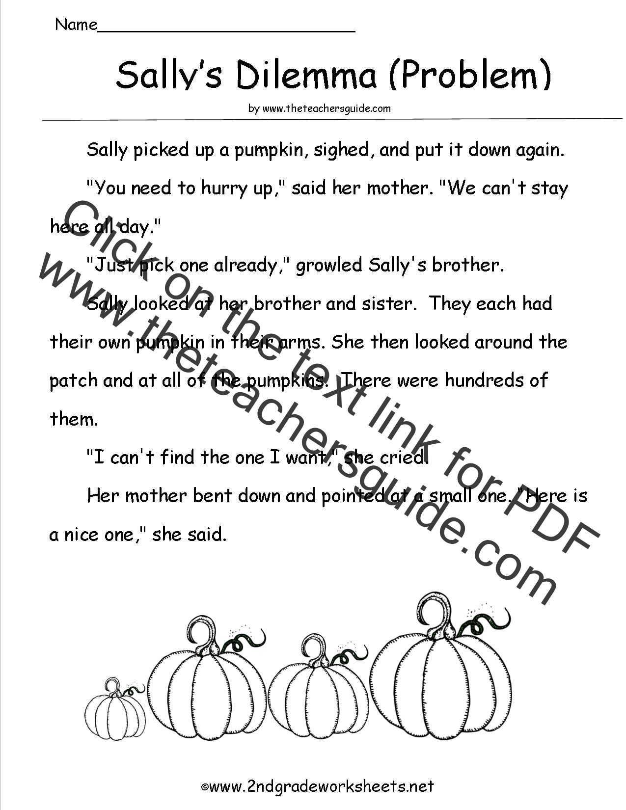 Printables Of Printable Worksheets For 2nd Grade Reading Comprehension