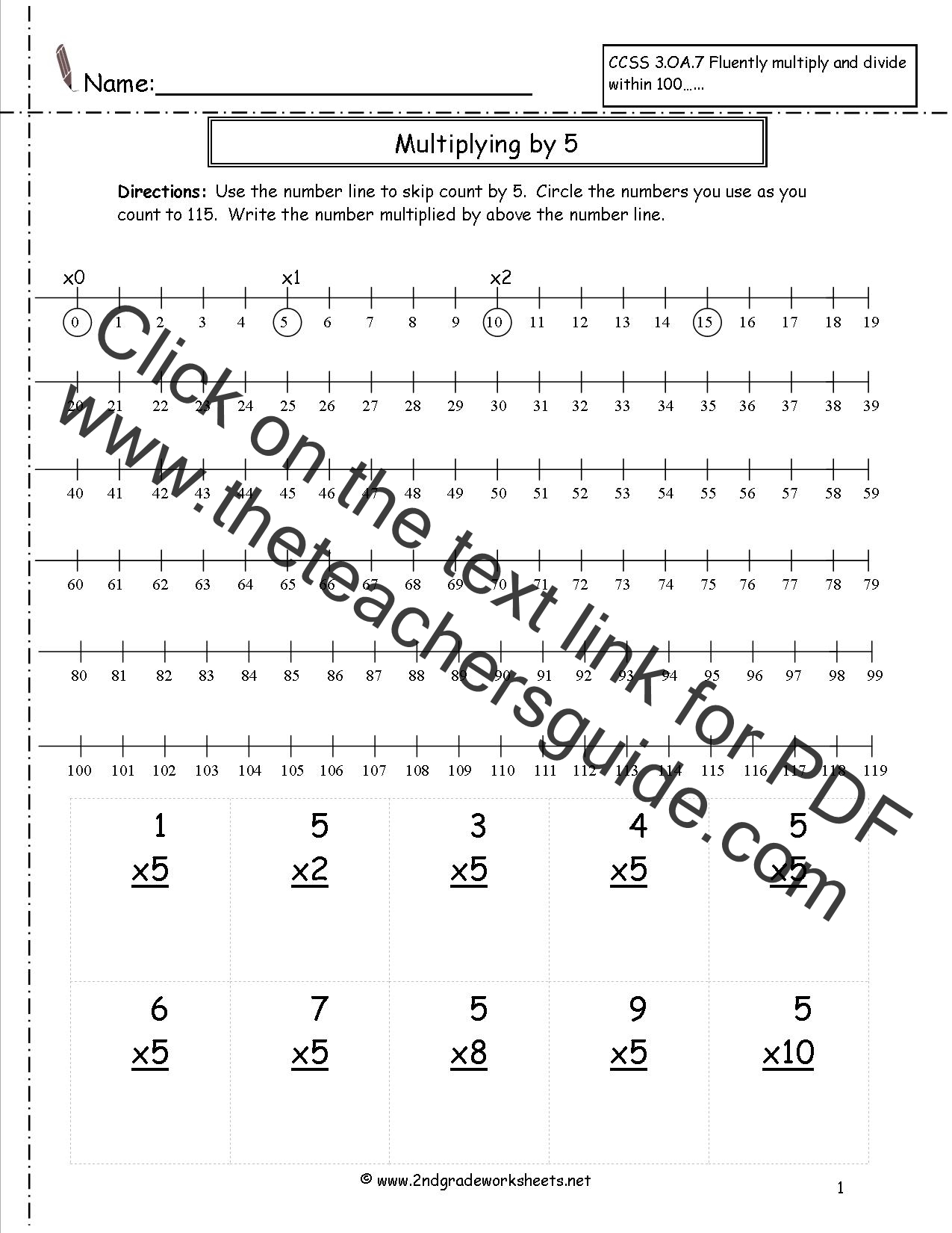 Multiplication Worksheets And Printouts